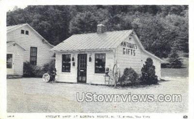 Korba's Motel - Barton, New York NY Postcard
