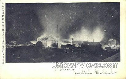 Sheriff Boices Saw Mill - Misc, New York NY Postcard