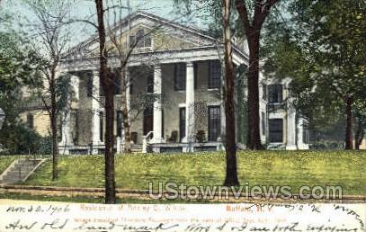 Residence of Ansley D. Wilcox - Buffalo, New York NY Postcard