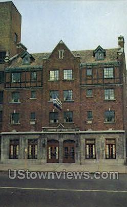 Hotel Stratford Arms - Buffalo, New York NY Postcard