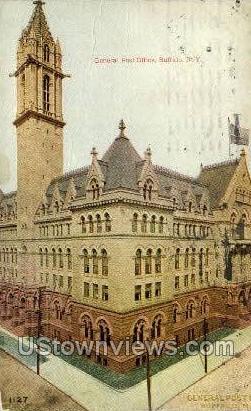 General Post Office - Buffalo, New York NY Postcard