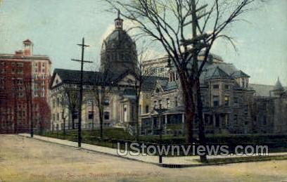 Broome County Jail - Binghamton, New York NY Postcard