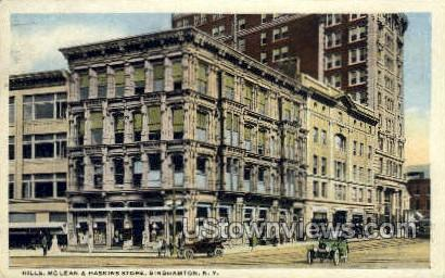 McLean & Haskins Store - Binghamton, New York NY Postcard