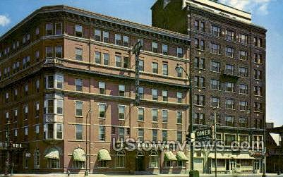 Arlington Hotel - Binghamton, New York NY Postcard