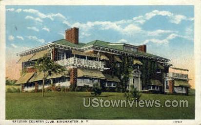 Kalurah Country Club - Binghamton, New York NY Postcard