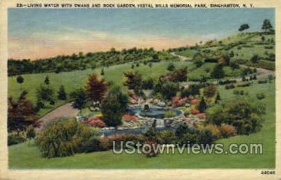 Vestal Hills Memorial Park - Binghamton, New York NY Postcard