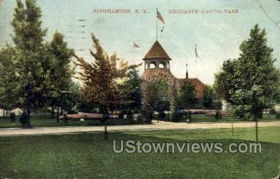 Casino Park - Binghamton, New York NY Postcard