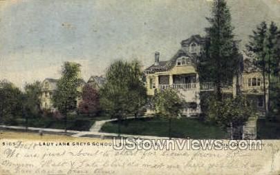 Lady Jane Greys School - Binghamton, New York NY Postcard