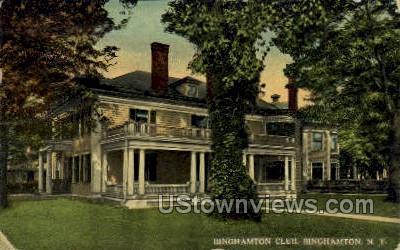 Binghamton Club - New York NY Postcard