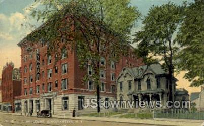 YMCA Bldg - Binghamton, New York NY Postcard