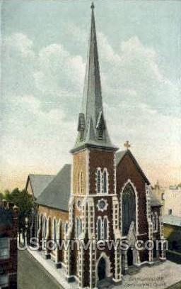 Centenary M.E. Church - Binghamton, New York NY Postcard