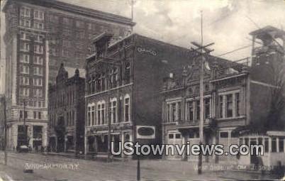 West Side of Chenango Street - Binghamton, New York NY Postcard