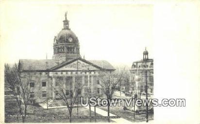 Broom County Court House - Binghamton, New York NY Postcard