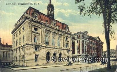 City Hall - Binghamton, New York NY Postcard