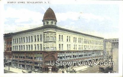 Boston Store - Binghamton, New York NY Postcard