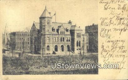 Government Building - Binghamton, New York NY Postcard