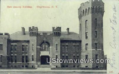New Armory Building - Binghamton, New York NY Postcard