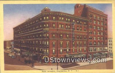 Hotel Arlington - Binghamton, New York NY Postcard