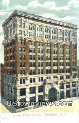 Security Mutual Building - Binghamton, New York NY Postcard