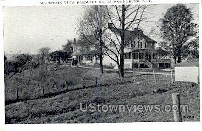 Farm House - Bloomingburg, New York NY Postcard
