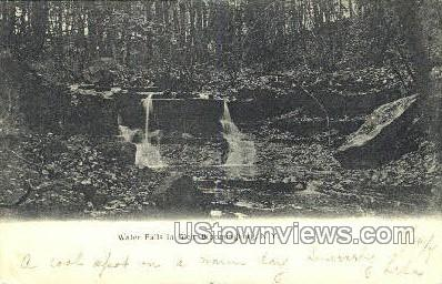 Water Falls in Glen - Bloomingburg, New York NY Postcard