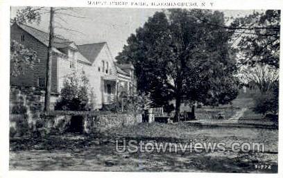 Maple Crest Farm - Bloomingburg, New York NY Postcard