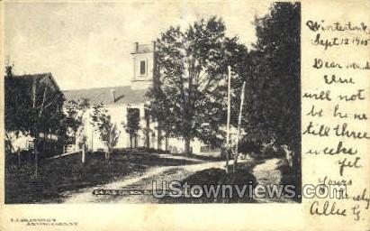 M.E. Church - Bloomingburg, New York NY Postcard