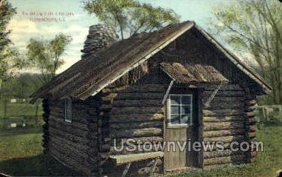 Old Log Cabin - Bloomingburg, New York NY Postcard