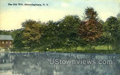 The Old Mill - Bloomingburg, New York NY Postcard