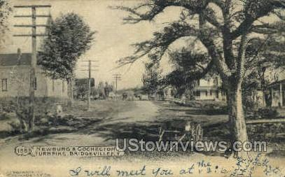 Newburg & Cochecton Turnpike - Bridgeville, New York NY Postcard