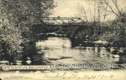 Bushville - Bridgeville, New York NY Postcard