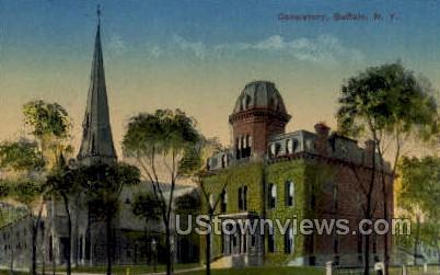 Consistory - Buffalo, New York NY Postcard