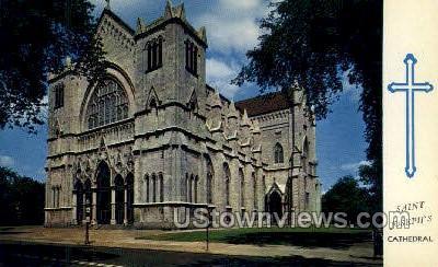 Saint Joseph's Cathedral - Buffalo, New York NY Postcard