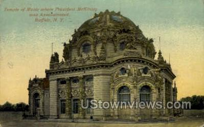 Temple of Music - Buffalo, New York NY Postcard