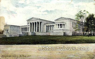 Albright Art Gallery - Buffalo, New York NY Postcard
