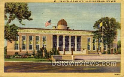 Museum of Science - Buffalo, New York NY Postcard