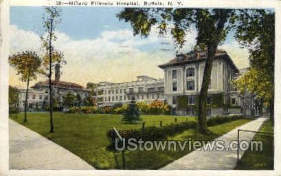 Millard Fillmore Hospital - Buffalo, New York NY Postcard