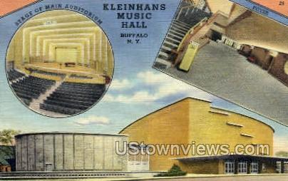 Kleinhans Music Hall - Buffalo, New York NY Postcard