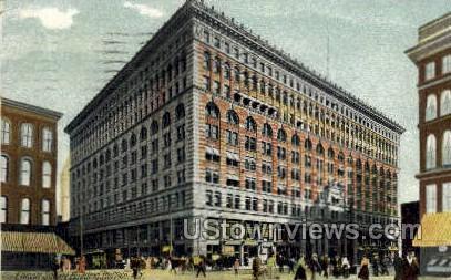Ellicott Square - Buffalo, New York NY Postcard