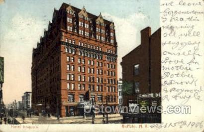 Hotel Iroquois - Buffalo, New York NY Postcard