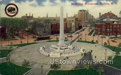 McKinley Monument - Buffalo, New York NY Postcard