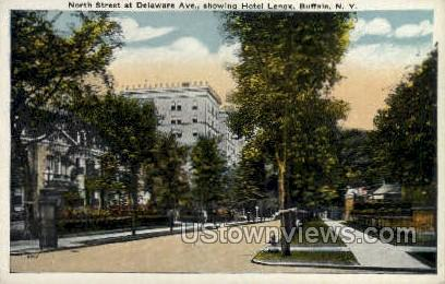 North Street - Buffalo, New York NY Postcard