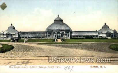 Botanic Garden - Buffalo, New York NY Postcard