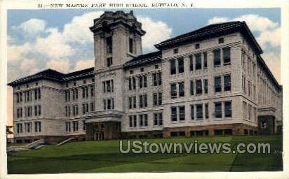 Masten Park High School - Buffalo, New York NY Postcard