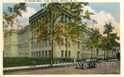 South Park High School - Buffalo, New York NY Postcard