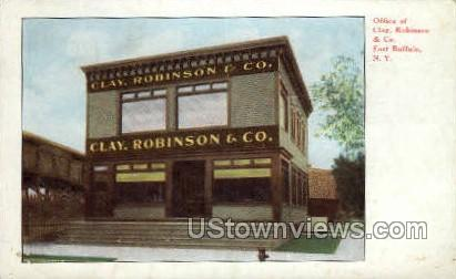 Office of Clay, Robinson & Co. - Buffalo, New York NY Postcard