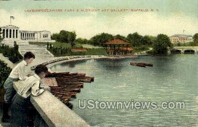 Delaware Park - Buffalo, New York NY Postcard