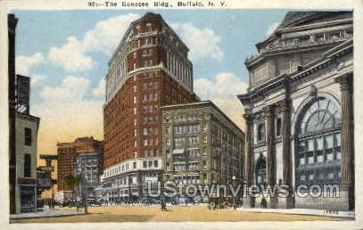 Genesse Bldg - Buffalo, New York NY Postcard