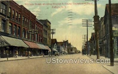William Street - Buffalo, New York NY Postcard