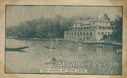 Park Lake - Buffalo, New York NY Postcard